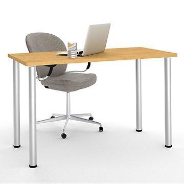 Mesa de escritorio con patas de metal redondo - 47,6