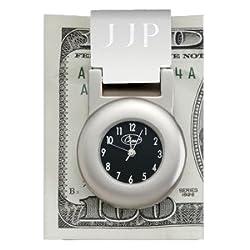Financier Money Clip Clock