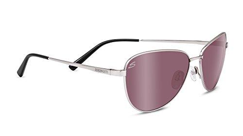 Serengeti Gafas Gloria Gris Dorado M Satin Soft Gold Adulto Unisex rqr4w5A