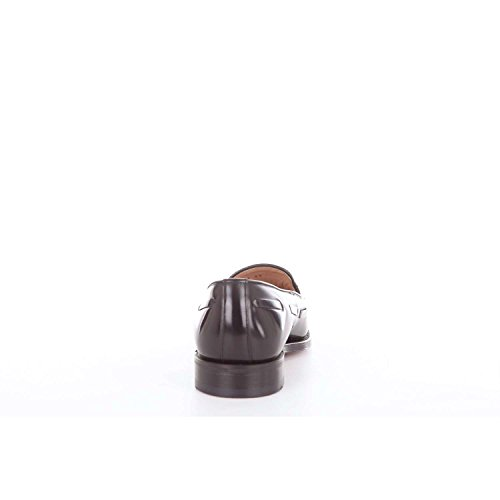 Loake Lincoln Suede Tassle Loafer In Black UK 7 n3dgU4