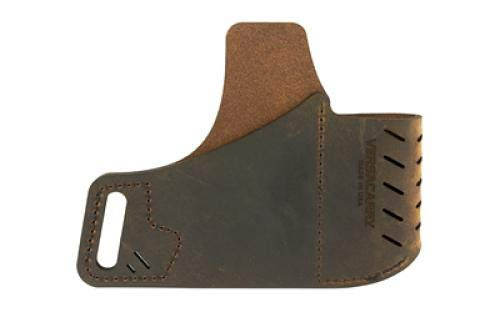 Commander Series Water Buffalo Belt Holster, Includes Spare Mag Pouch, Fits 1911 Style Pistols, Right Hand, Distressed Brown Leather (Best 1911 Style Pistol)
