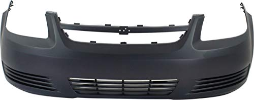 Front Bumper Cover Compatible with 2005-2010 Chevrolet Cobalt Primed Base/LS/(LT Model)