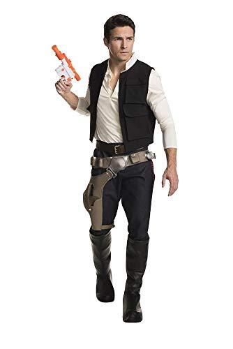 Rubie's Classic Star Wars Grand Heritage Han Solo Costume, As Shown, Men's Standard