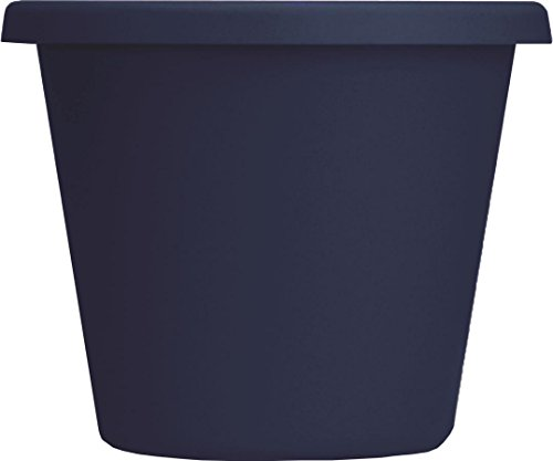 Myers Industries L Ggroup Lia14000dc6 Classic Pot  Navy Blue  14