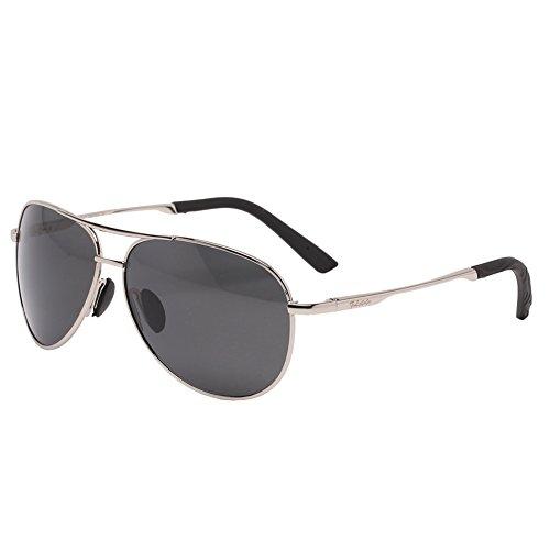 b7d94f38ef Jual Men s Sport Sunglasses UV400 Lens Aviator Sunglasses Mirrored ...