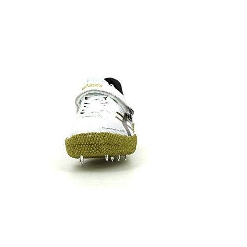 Asics Cyber High Jump London R Zapatillas De Atletismo Blanco