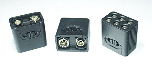 (9 Volt LED Flashlight- Ultra Bright (3-Pack))