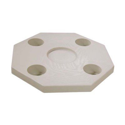 AMRJ-DSI * JIF Octagonal Ivory Table Top - Table Only