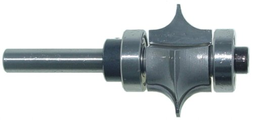 Magnate 7653 Leaf Edge Beading Carbide Tipped Router Bit - 1/4