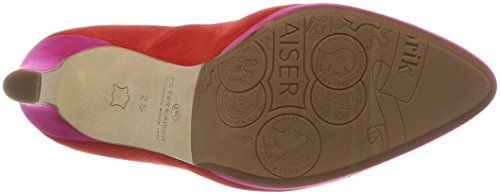 Herdi Peter Scarpe Col Donna Berry Suede 777 Rosso Tacco Kaiser Con Plateau brasil OOUqARnxw