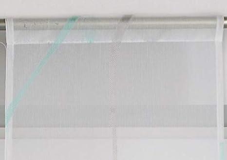 Shangrila 4er Set Scheibenh/änger Scheibengardinen Tunneldurchzug /»Artvin/« Gardinen HxB 40-100x30 cm Hellblau Mint Gerade Beschwerungsstange Bistrogardinen Kurzgardinen 10000329-333-4er