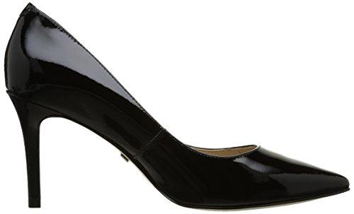 Buffalo London, Damen Pumps Schwarz - Noir (Black 01)