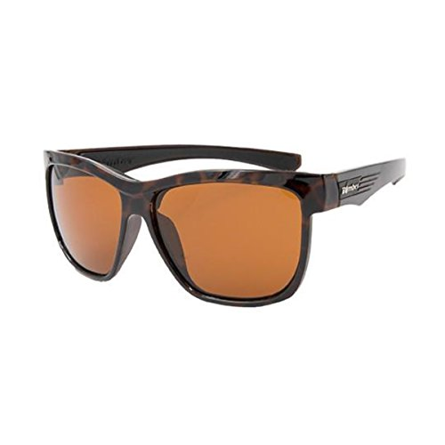 Shiny Glass Amber Tortoise (Bomber Sunglasses - Jaco Bomb Shiny Tortoise Frm / Amber Pc Lens / Black Foam)