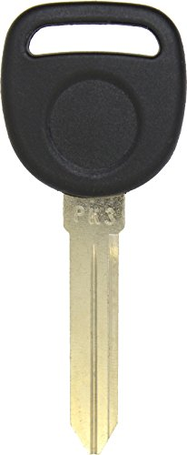 ReplaceMyRemote GM Uncut Ignition Chipped Transponder Key Blank for PK3 B99-PT (One) (One Key Blank)