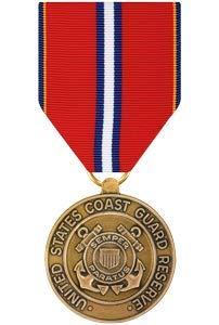 Medals of America Coast Guard Reserve Good Conduct Medal Bronze (Coast Guard Good Conduct Ribbon)
