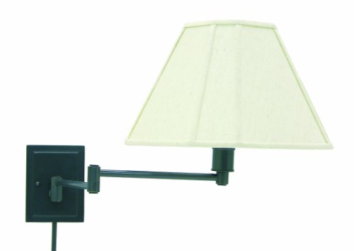 House Of Troy WS16-91 Swing Arm Wall Lamp, 15.5