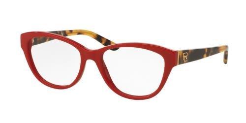 Ralph Lauren RL6145 Eyeglass Frames 5599-52 - Shiny Laque Red RL6145-5599-52