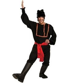 Rubie's Costume Co. Men's Black Russian Costume, As Shown, X-Large