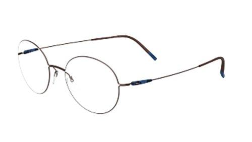 - Eyeglasses Silhouette Dynamics Colorwave Full Rim 5509 6140 mahagony/ink 49/19/1