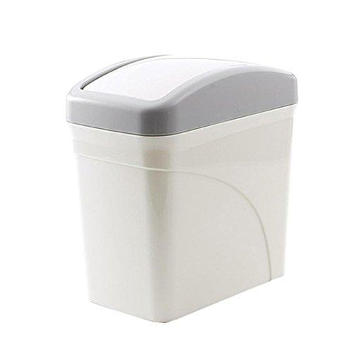 Nesix Creative Trash Can, Mini Desktops Mini Creative Covere