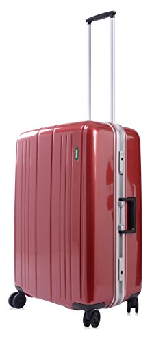lojel-superlative-frame-polycarbonate-medium-upright-spinner-luggage-red-one-size