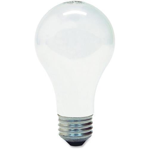 63004 GE 53-watt Energy Efficient A19 Bulb - Soft White - 53 W - 120 V AC - E26 - 6 / Carton by GE
