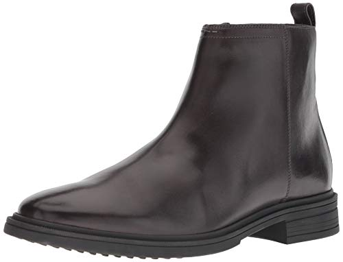 Cole Haan Men's Bernard Zip Boot Fashion, Dark Roast/Black, 8.5 M US -