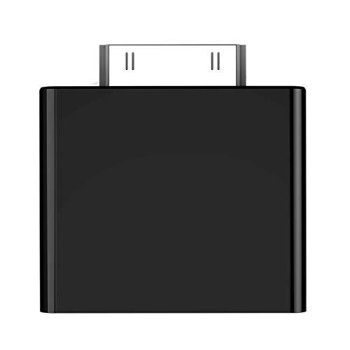 Nrpfell 30ピン Bluetooth V2.1 トランスミッター ワイヤレス ステレオ オーディオ アダプター ドングル A2DP Mini iPod DVD Mp3 Xr649用 B07MX9KCD9