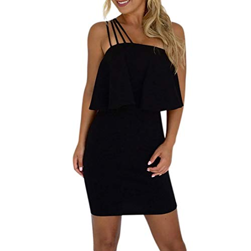 Casual Solid Off Knee Mini Dress Dresses KIMODO Above Women Black Party Loose Shoulder xwq5ffCFY