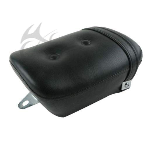 (Sala-Ctr - Synthetic Leather Black Rear seat For Yamaha Virago 250 XV250 1988-2013 2012 09)