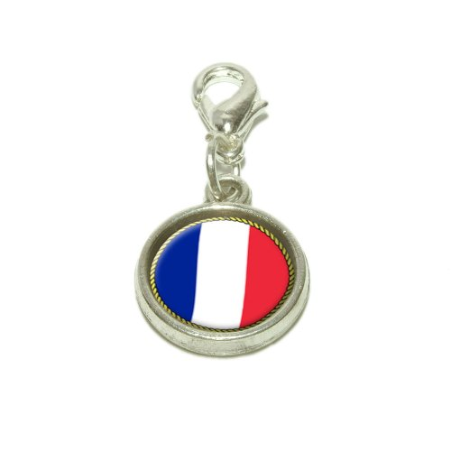 Flag Of France Dangling...
