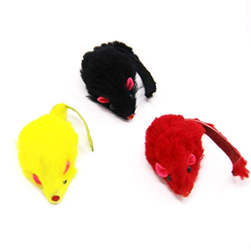 Amazon.com : Best Quality Funny Kitten cat mice Ball cage Toys Playing Feather Mouse pet Products Classic Rat Small Toys : Pet Supplies