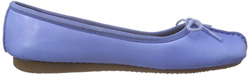 Clarks Freckle Ice - Mocasines para mujer Azul (Blue Leather)