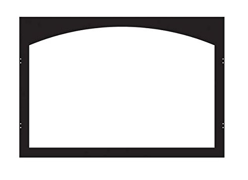 Empire Arch Door Frame - Empire Comfort Systems ECS VFY32SBL Arch Fireplace Door Frame - Matte Black