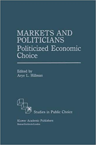 Book Markets and Politicians: Politicized economic choice (Studies in Public Choice)