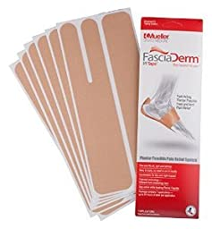Fasciaderm PF Tape, 7 Applications Each (Pack of 2)
