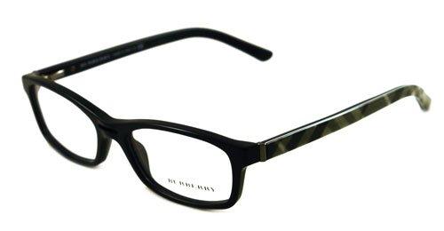 Amazon.com: Burberry Eyeglasses B2087 Black Optical Frame: Burberry ...