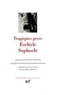 Tragiques grecs : [Électre], Sophocle (0496?-0406 av. J.-C.)