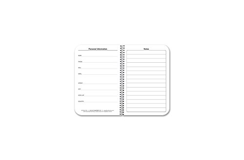 BookFactory 2018-2019 Weekly Academic Calendar (2 Pages per Week - 126 Pages - 3.5'' X 5.5'')/2018 Weekly Planner/Weekly Organizer [Wire-O Bound] (ACAD-152-M3CW-A(WEEKLY-CAL2018-19)) by BookFactory (Image #2)