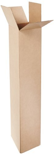 Aviditi T8848OUTER Telescoping Outer Box, 8-1/2'' Length x 8-1/2'' Width x 48'' Height, Kraft (Pack of 20)