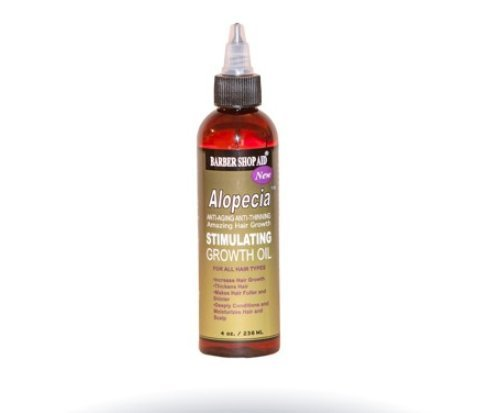 Barber Shop Aid Alopecia Amazing Stimulating Hair Growth Oil 4 oz
