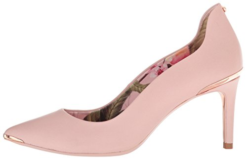 Ted Baker Women's Vyixyn Pump, Blossom Pink Leather Blossom Print Lining, 8 Medium US by Ted Baker (Image #5)