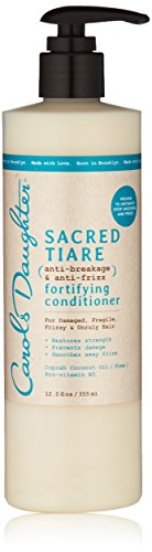 Carols Daughter Sacred Tiare Anti-Breakage & Anti-Frizz Fortifying Conditioner, 12 Ounce