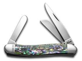 Case Medium Abalone Stockman Pocket Knife