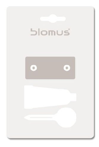 Blomus Attachment Set, No More Drilling, for Sento Artikel 68637 / -38/ -51 / -52, Plastic, 68660