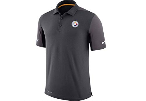- Nike Pittsburgh Steelers Team Issue Dri-FIT Men's Polo Golf Shirt Small