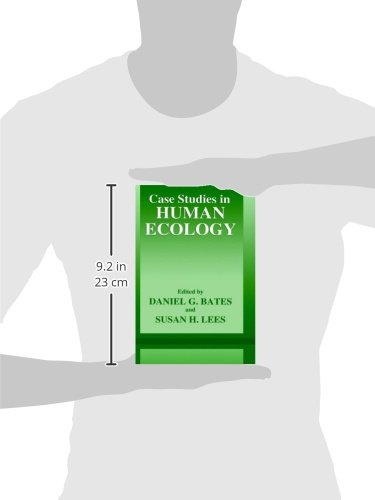 Case Studies in Human Ecology (The Language of Science) by Springer