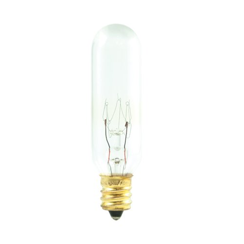 (Bulbrite 707222 - 100PK - 25W - T6.5 Tube - Double Contact Bayonet Base - 145V - 2700K - Clear - Incandescent Exit Bulbs)