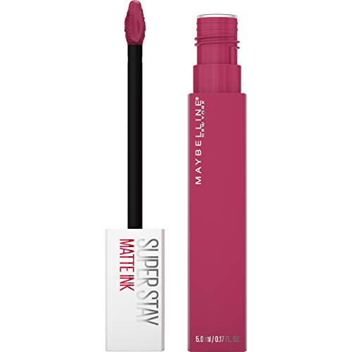 Maybelline Superstay Matte Ink Liquid Lipstick, Long-Lasting Matte Finish Liquid Lip Makeup, Highly Pigmented Color, Pathfinder, 0.17 Fl. Oz