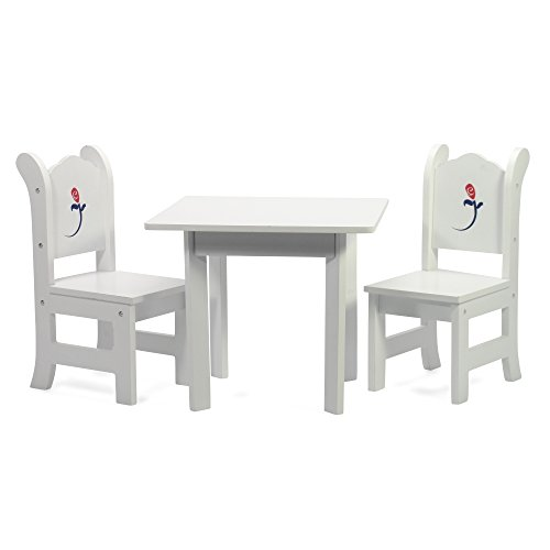 "18"" Inch Doll Table and Chairs Set 